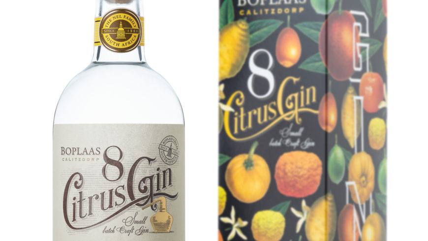 Take your G&T to the next level with new Eight Citrus Gin by Boplaas