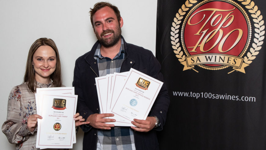 Boplaas wines crowd the 2019 list of Top 100 SA Wines