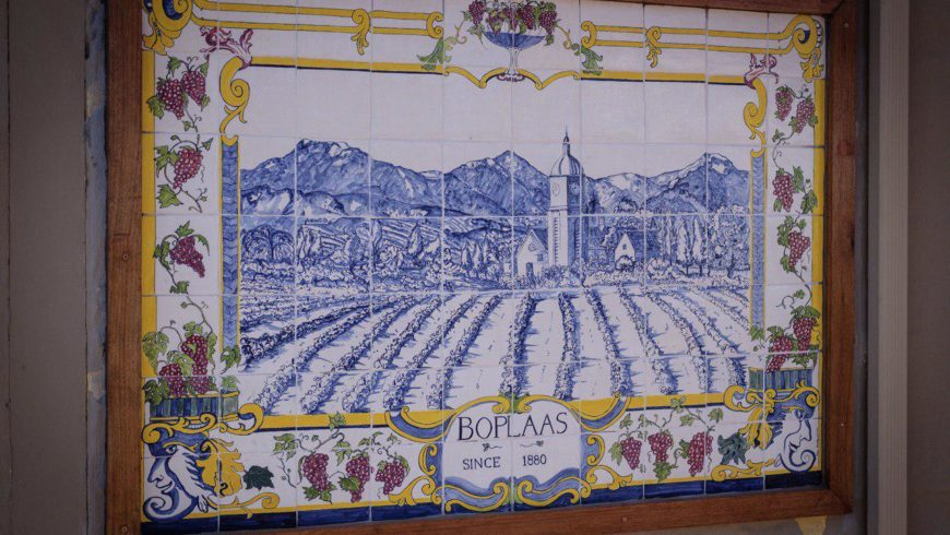 Boplaas highlights artisanal excellence through display of  traditional Azulejo tiles