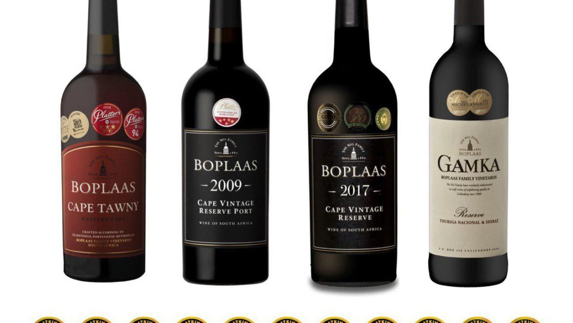 Boplaas gets top marks in Tim Atkin's 2019 SA Wine Report